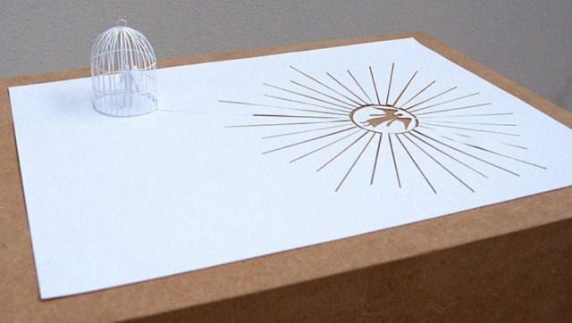 Kreasi 3D Luar Biasa Dari Selembar Kertas