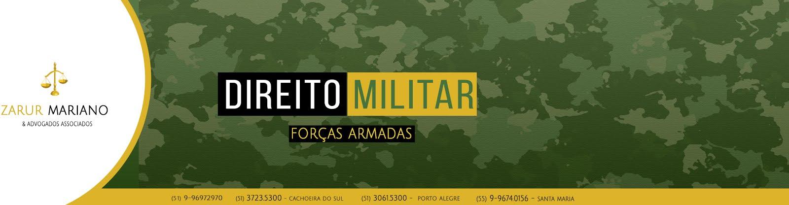 DIREITO MILITAR - Forças Armadas