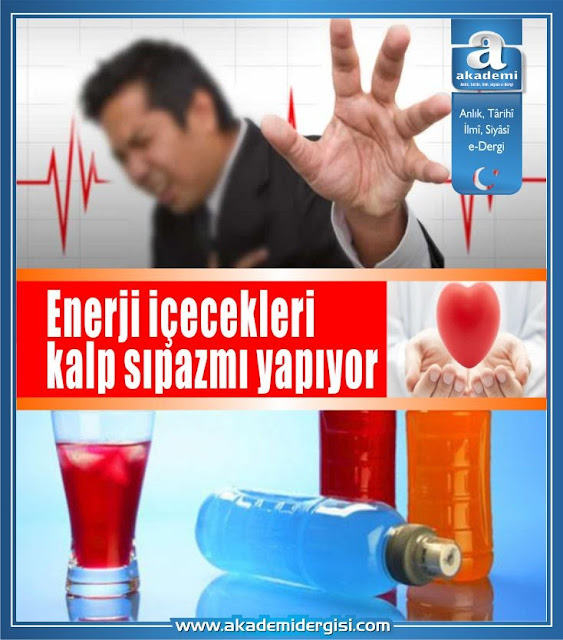 Enerji içecekleri kalp sıpazmı yapıyor