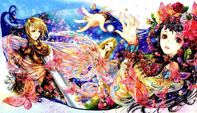 tukiji nao,anime fairy,anime wallpaper