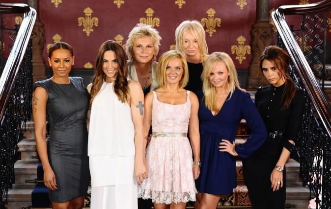 Les Spice Girls le 26 juin 2012 a Londres portrait