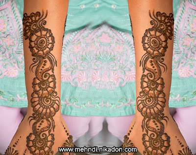 Fancy Mehndi Designs Photos For Full Hand