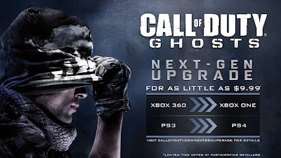 Call of Duty: Ghosts, Playstation, Upgrade, Xbox One