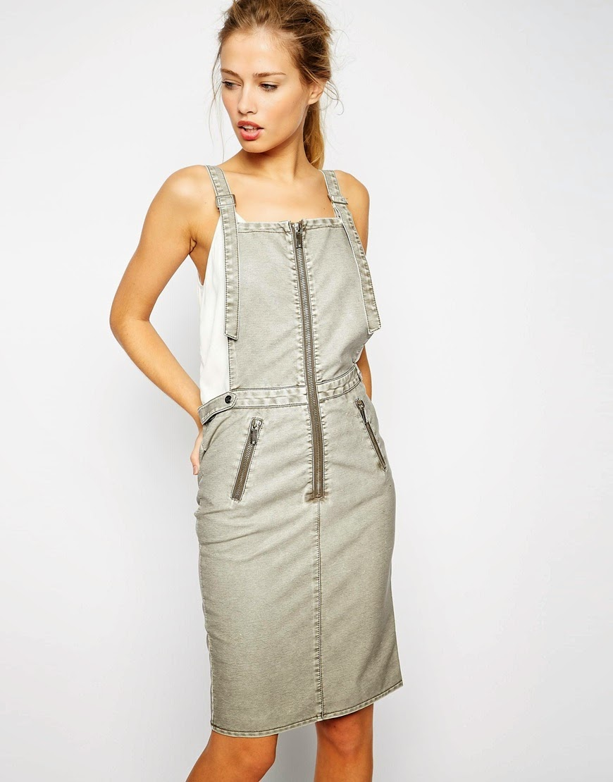 supertrash dungaree dress, supertrash pinafore dress, supertrash denim dress,