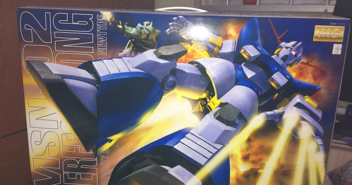 my gundam experience mg msn 02 perfect zeong principality of zeon ms for new type part 01. Black Bedroom Furniture Sets. Home Design Ideas