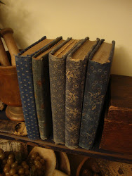 Old fashion covered book's