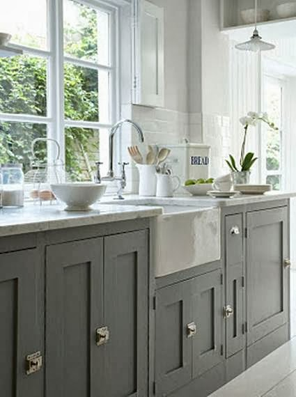 Gray kitchen ideas my little sweet house for Kitchen designs grey