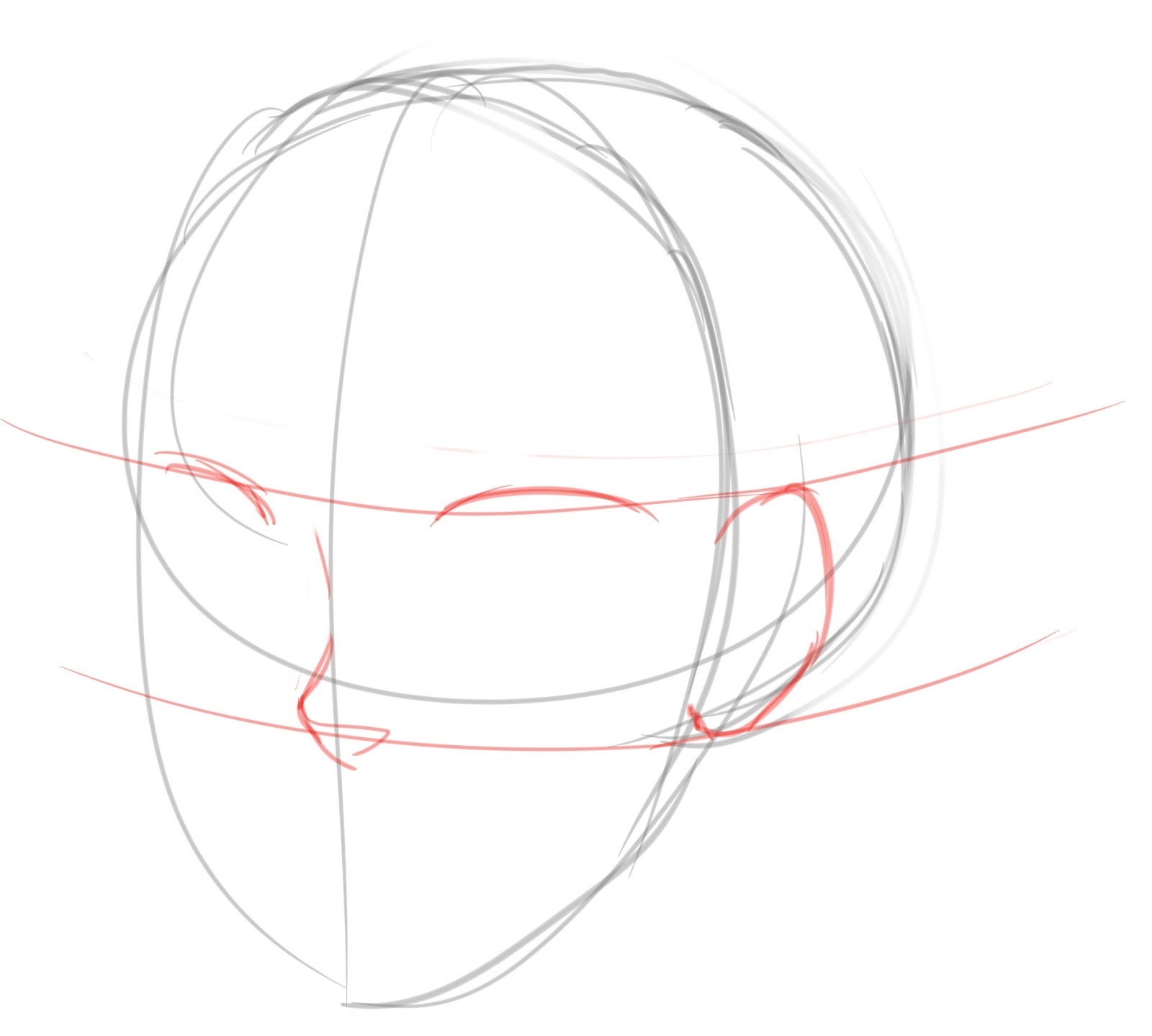 How to draw Human ear