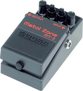 Metallica, Metalzone, setting efek gitar,