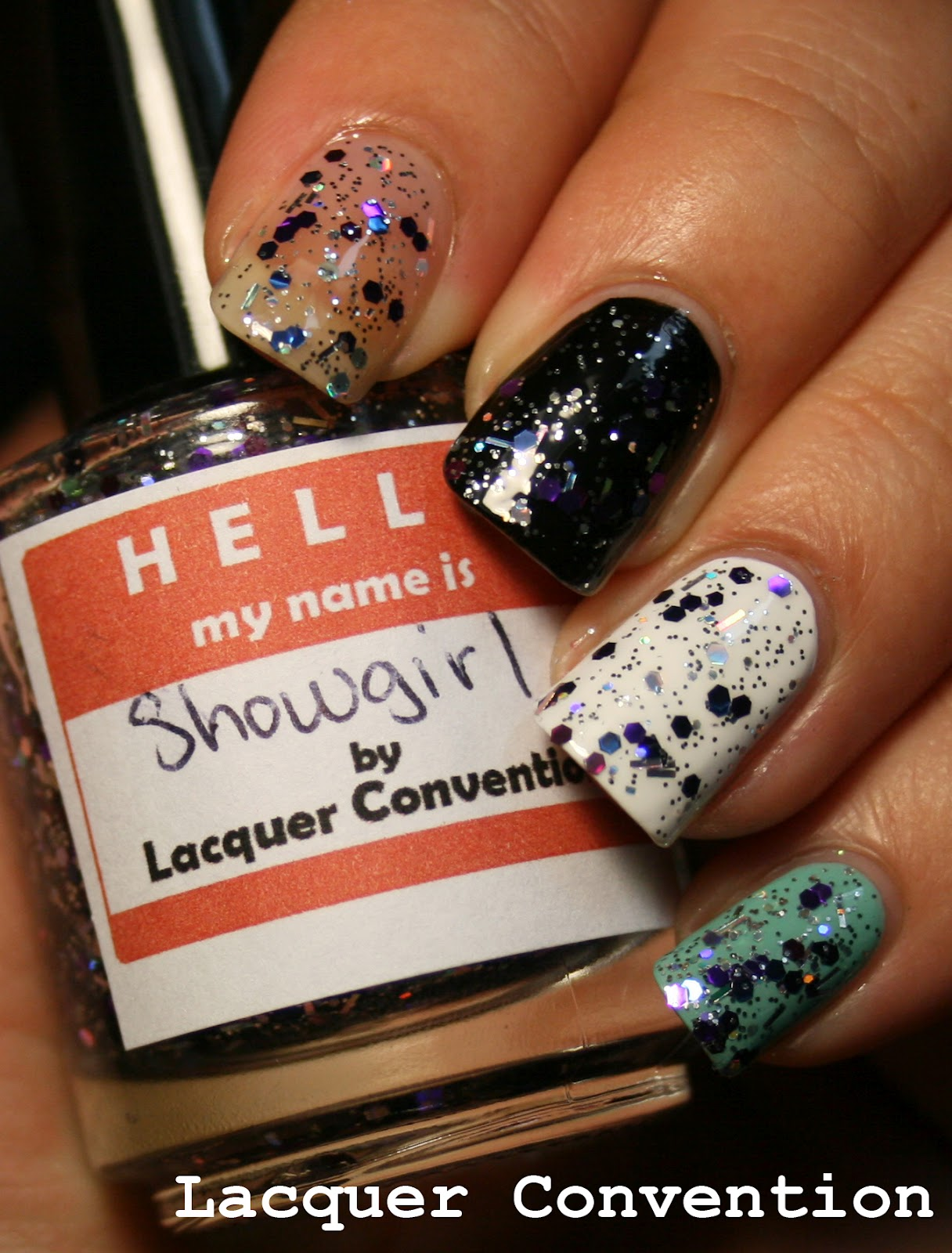 The Broad Stroke: Lacquer Convention: More Glitter Top Coats!