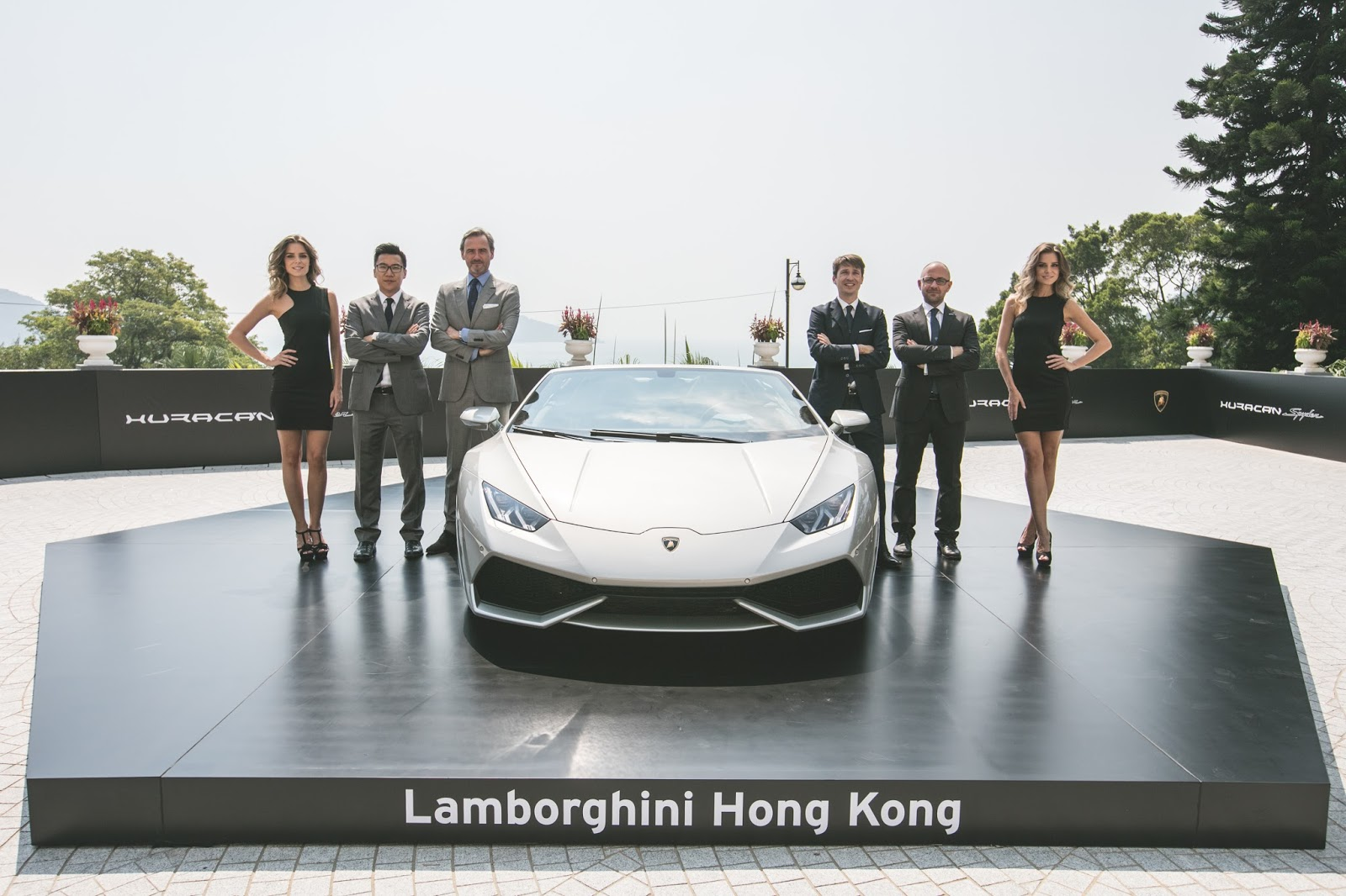 Lamborghini Launches Huracán LP610 4 Spyder In Hong Kong