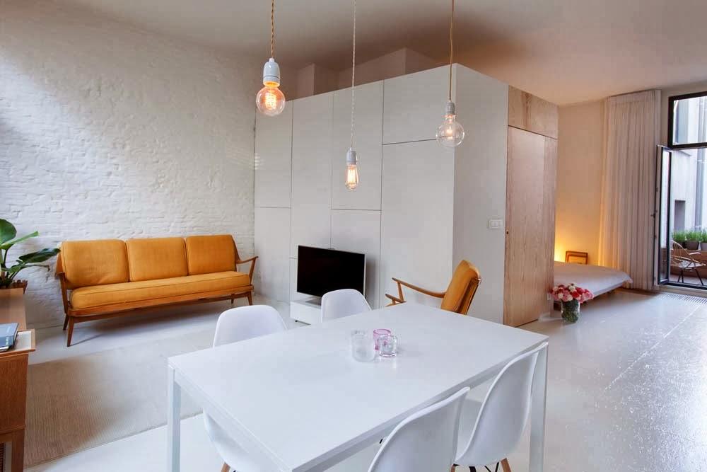 ilia estudio interiorismo mini apartamento con estilo n rdico. Black Bedroom Furniture Sets. Home Design Ideas