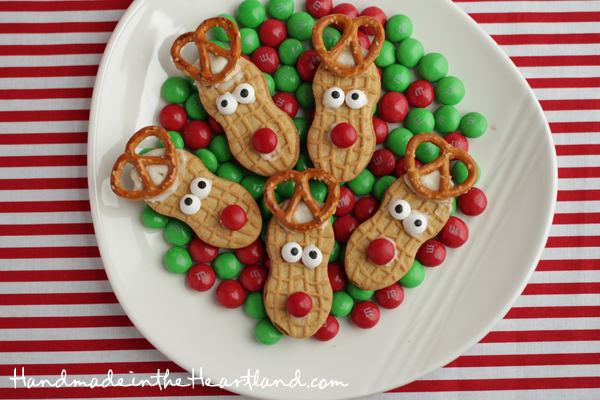Nutter Butter Reindeer Cookies by Mandy Beyeler