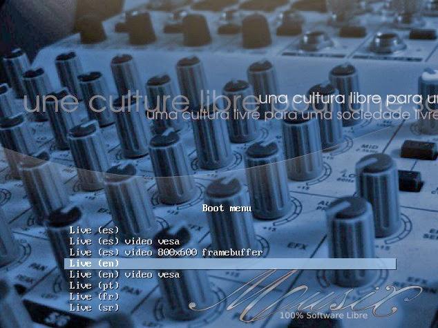 Musix una distro linux para los músicos, ingenieros de audio y DJs