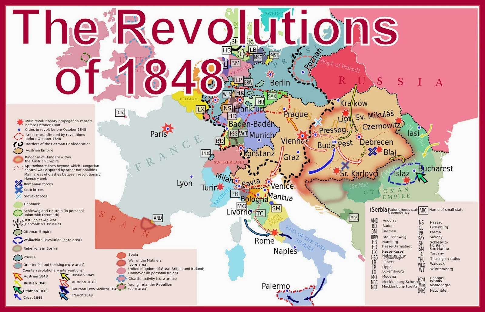 Marxist Modern Germany Revolution Of 1848