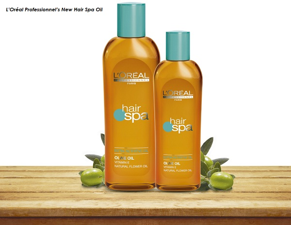 L'Oréal Professionnel's New Hair Spa Oil