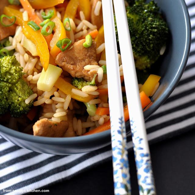 Brokkoli-Reis-Salat