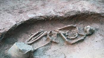 Los restos se han hallado en la plaza de la Gardunya, junto al mercado de la Boqueria
