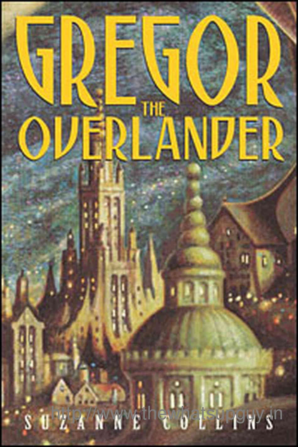 Gregor The Overlander Suzanne Collins Book Report Review