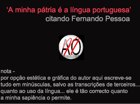 da língua portuguesa...