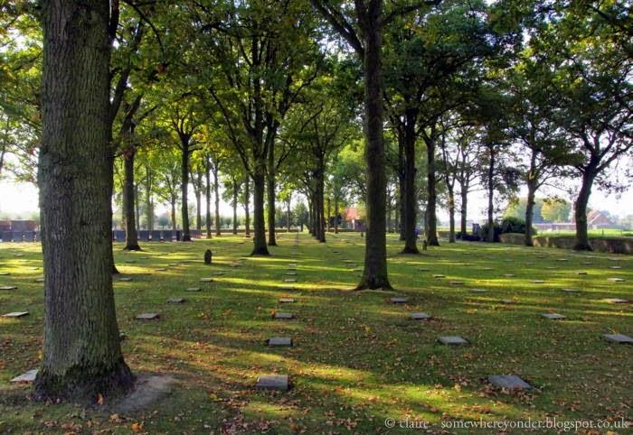 Langemark German Cemetery, Flanders Fields Belgium
