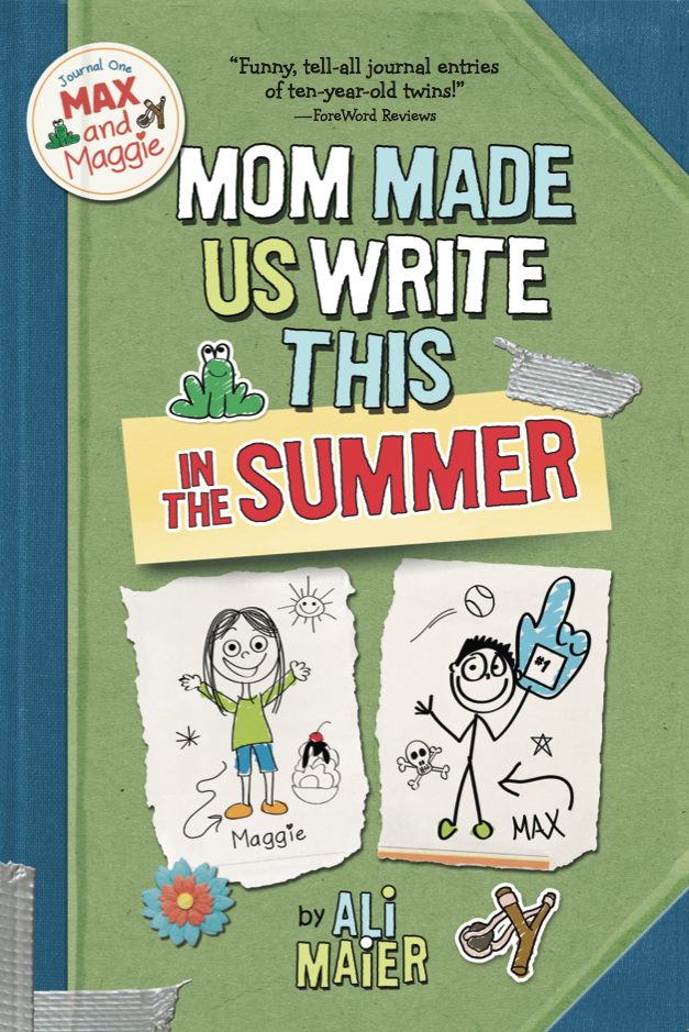 Mom Made Us Write This In The Summer cover