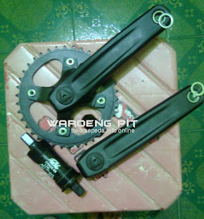 Jual Crank Set Copotan wimcycle thrill agent 4x Sepeda Gunung mtb Mountain Bike