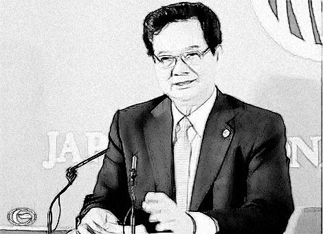 Thủ tướng Nguyễn Tấn Dũng phát biểu tại Câu lạc bộ Báo chí quốc gia Nhật Bản
