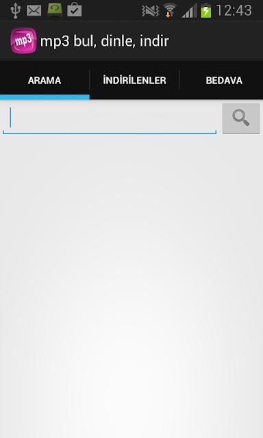 Mp3 Bul - Dinle Android Apk resimi 3