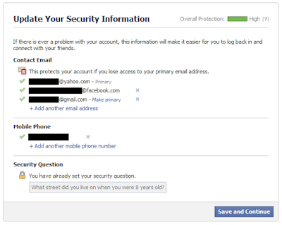 security update Amankan Akun Facebook Dari Hacker