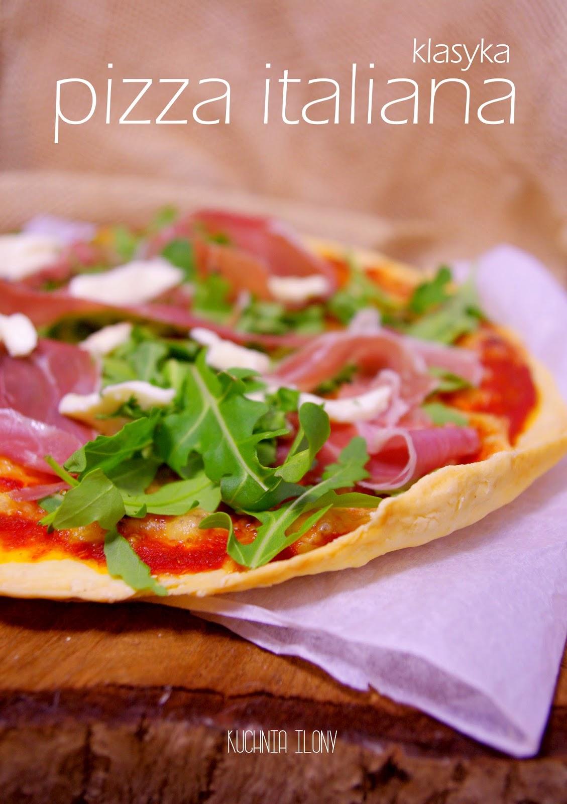 Międzynarodowy dzień pizzy, pizza na cienkim spodzie, pizza włoska. pizza italiana, klasyczna pizza włoska, pizza, kuchnia ilony,