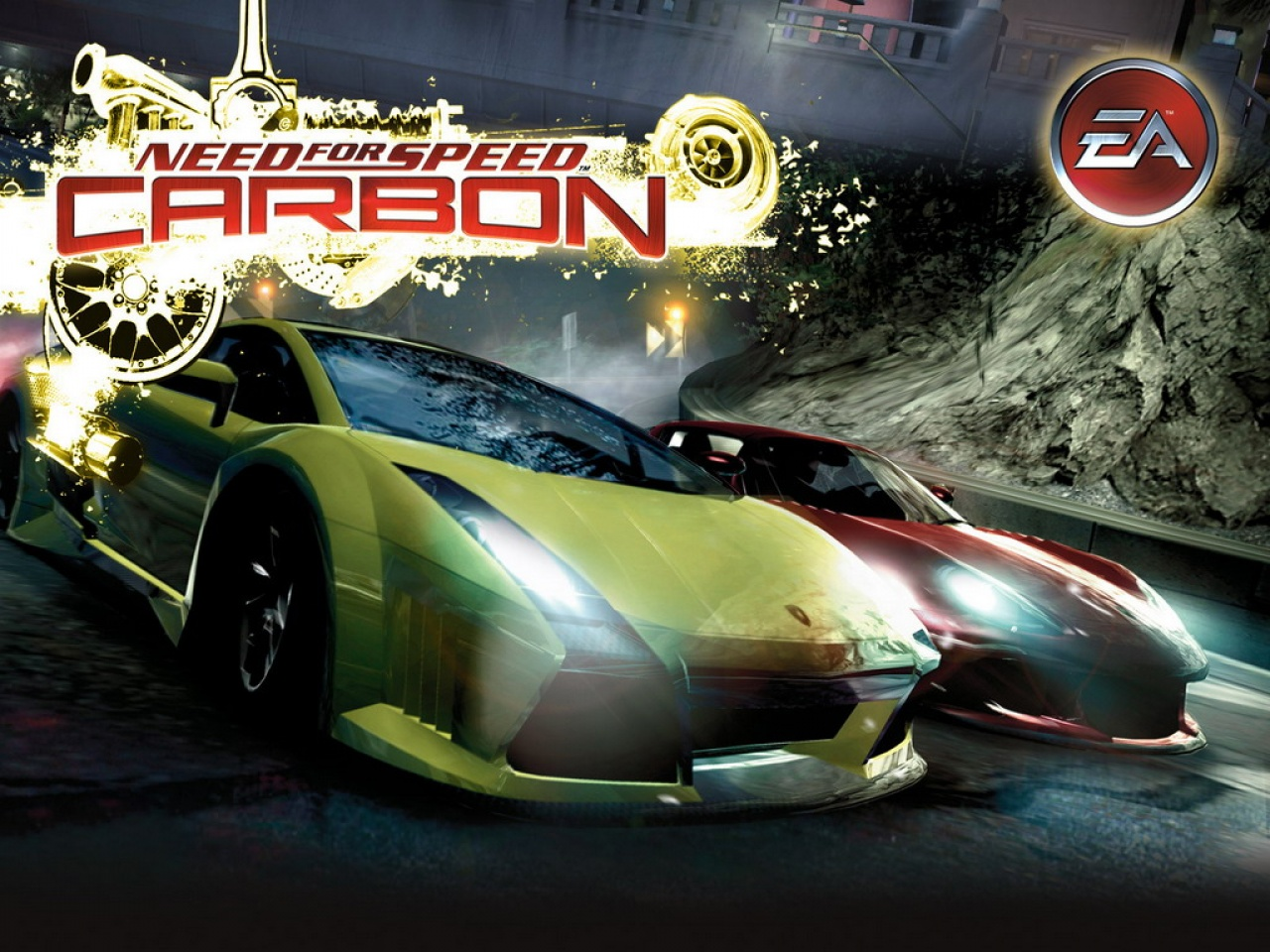 تحميل لعبةNeed for speed Carbon