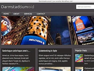 Darmstadtiumoid - Free Wordpress Theme