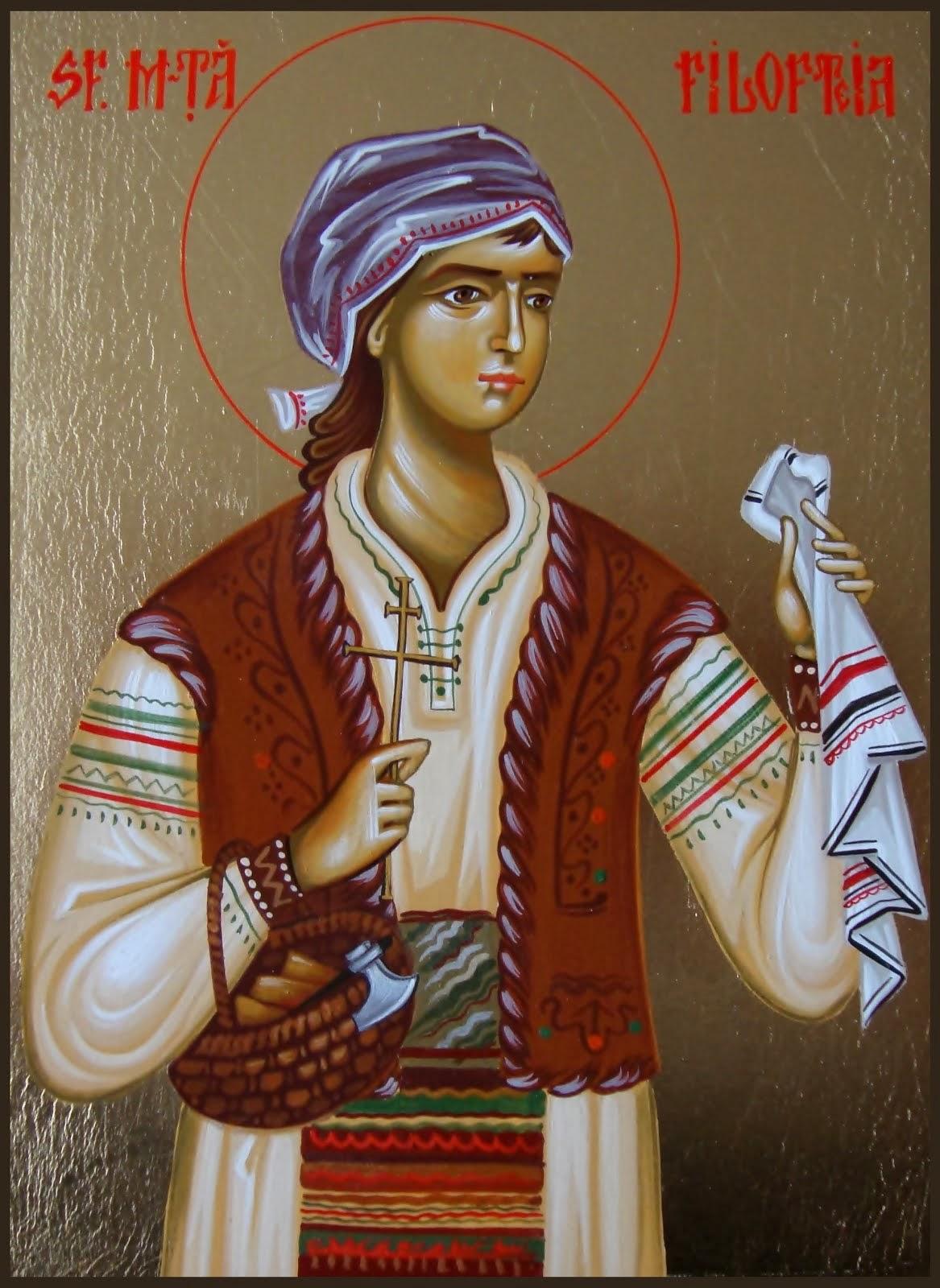 Azi 7 decembrie praznuirea Sfintei Mucenite Filoteia !