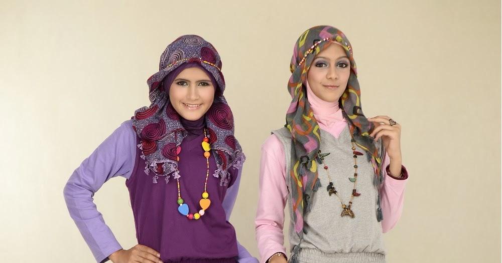 7 Gaya Busana Muslim Untuk Remaja Gambar Model Baju