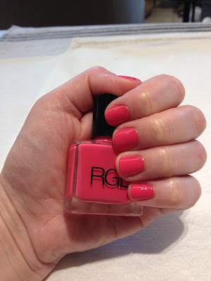 RGB, RGB Cosmetics, RGB nail polish, RGB Pink nail polish, RGB Cosmetics Pink nail polish, nail, nails, nail polish, polish, lacquer, nail lacquer, mani, manicure, mani of the week, manicure of the week