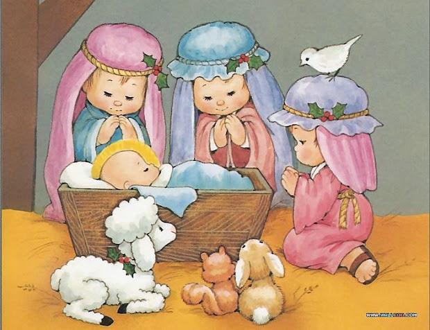 died grins cute nativity