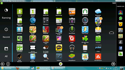 bluestacks untuk install aplikasi android di PC windows