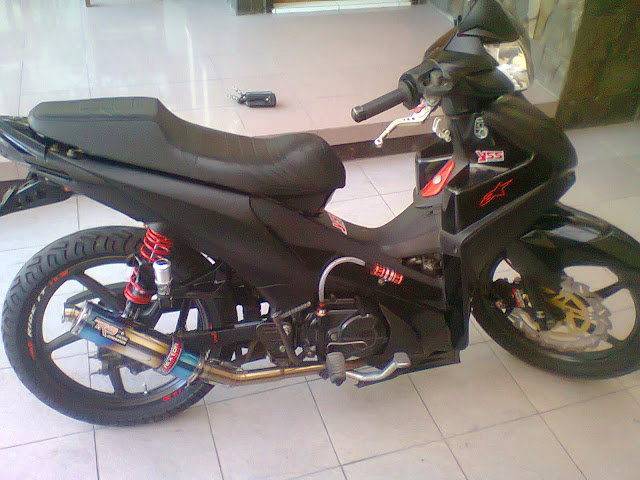 Modifikasi Absolute Revo Racing Look Black