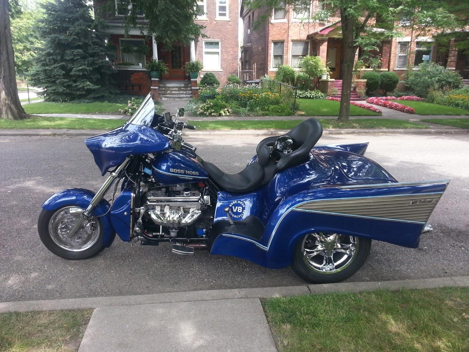 Motor City Muscle: Boss Hoss '57 Chevy
