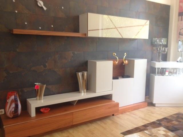 Ofertas de muebles de exposicion for Mueble salon nogal