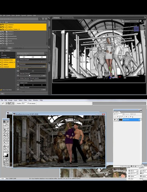 Daz Studio Iray Advanced Layering
