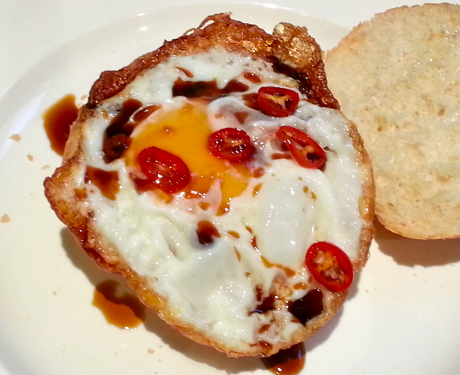 how to cook the perfect fried egg with runny yolk