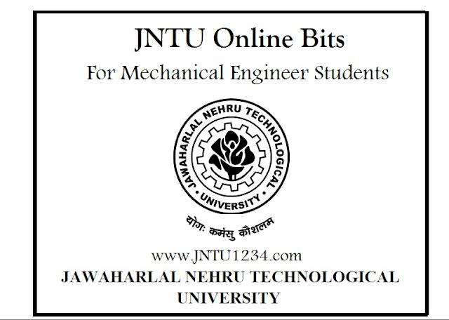 jntu online bits