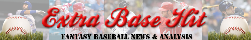Extra Base Hit - Fantasy Baseball News and Analysis