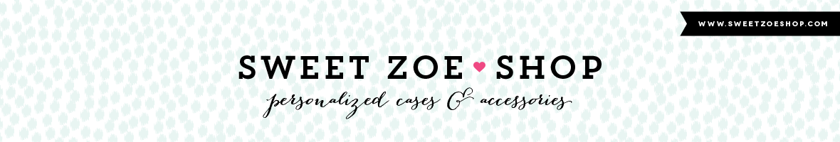 Sweet Zoe Shop | Personalized Cases, Accessories and Monogram Gifts