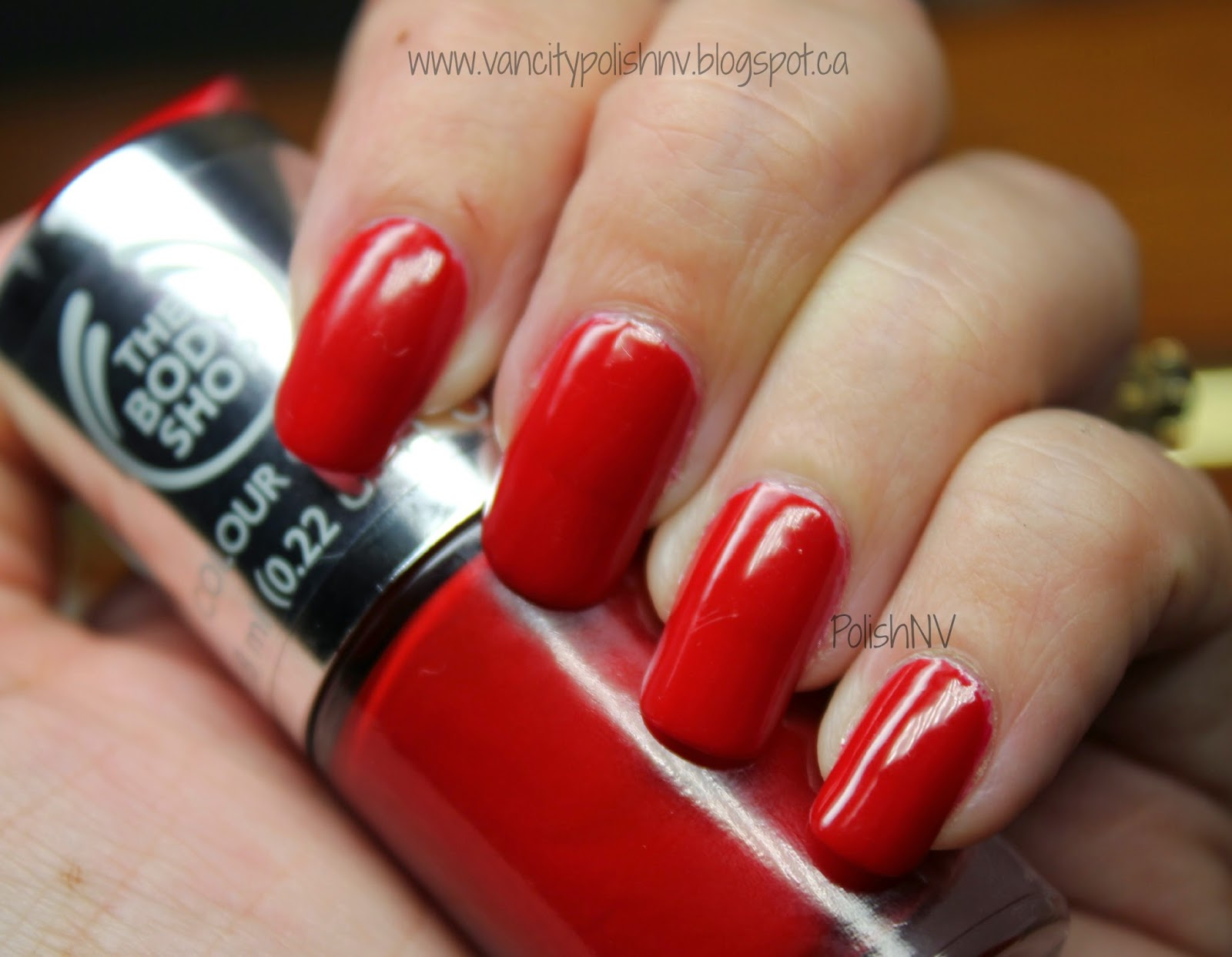 The Body Shop Nail Polish Relish The Moment