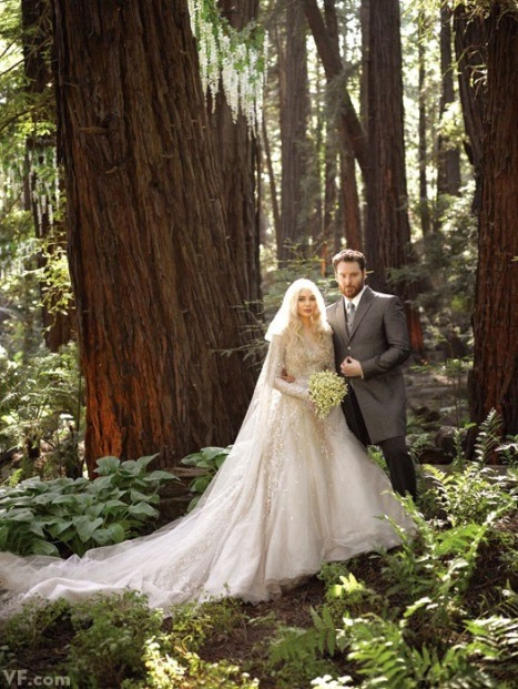 Sean Parker Lord of the Rings Wedding in Vanity Fair