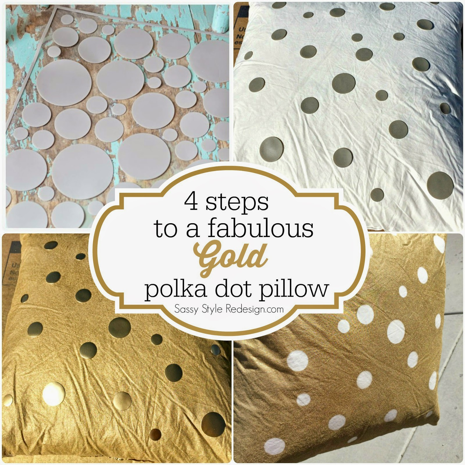 http://www.sassystyleredesign.com/2014/04/diy-gold-spray-painted-pillow.html