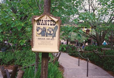 Wanted Poster Splash Mountain Mtn. Disney World